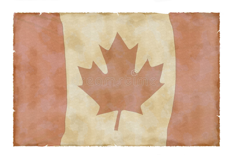 Download Vintage Canadian Flag Royalty Free Stock Photos - Image: 6035908