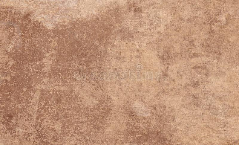 Vintage canvas background or texture. Vintage book cover royalty free stock photo