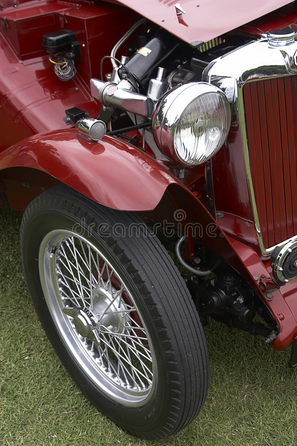 Download Vintage Car stock image. Image of automobile, engine, vehicle - 156343
