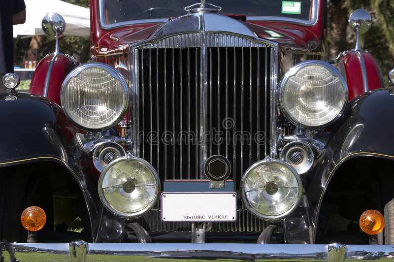 Download Vintage Car stock image. Image of auto, radiator, vintage - 174115