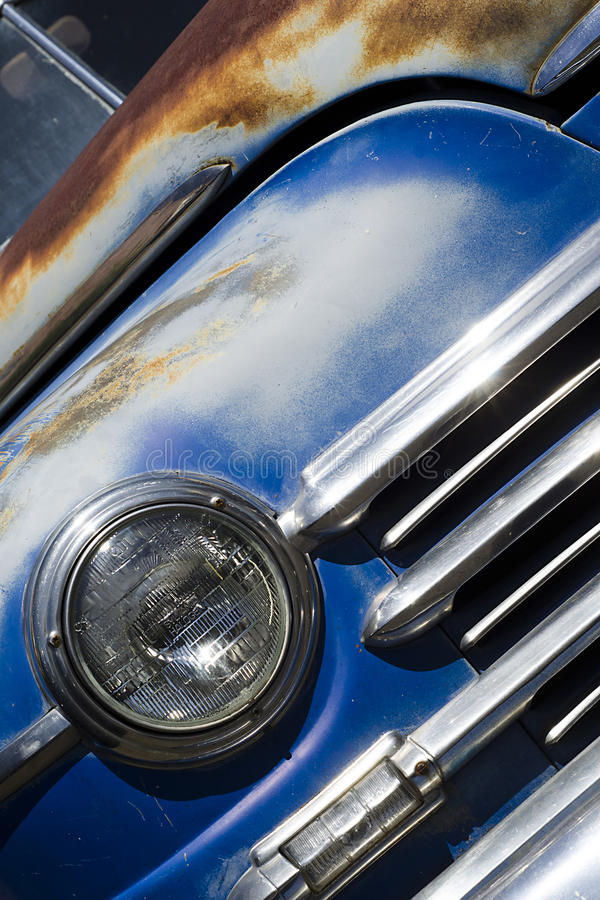 Download Vintage Car stock photo. Image of rusty, grill, hotrod - 24145142
