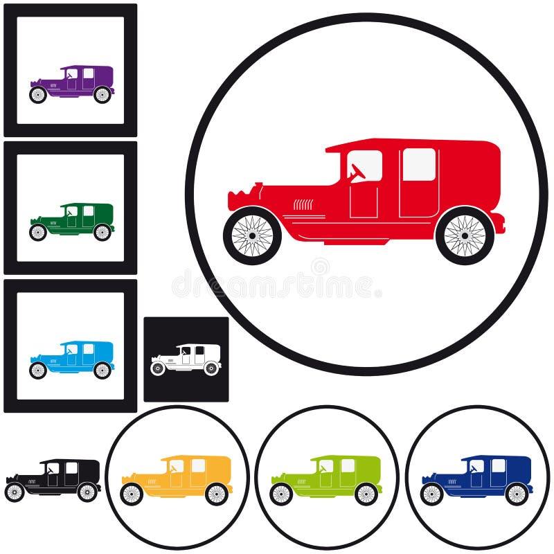 Download Vintage Car stock vector. Image of black, motor, business - 26616385