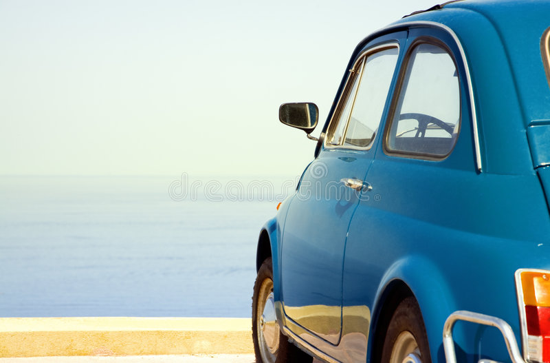 Download Vintage car stock image. Image of fiat, emancipation, away - 3149041