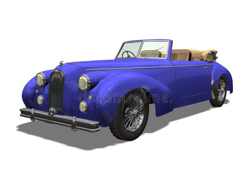 Download Vintage car stock illustration. Image of white, background - 3409430