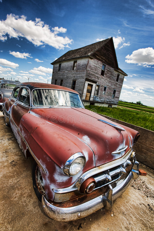Free Vintage Car Stock Photography - 8635442