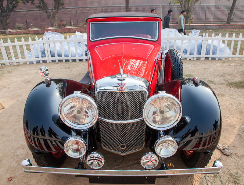 Vintage car, The Alvis royalty free stock photography