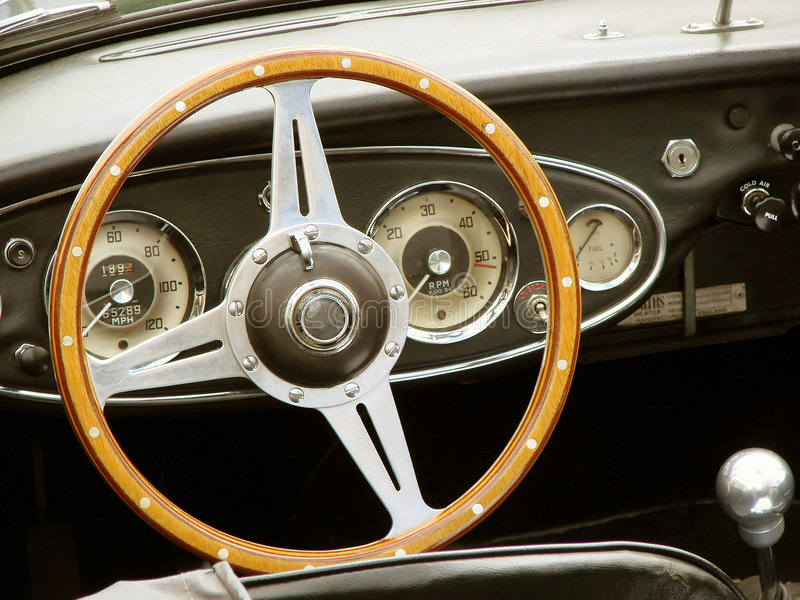 vintage car cockpit stock photo image of buttons. Black Bedroom Furniture Sets. Home Design Ideas