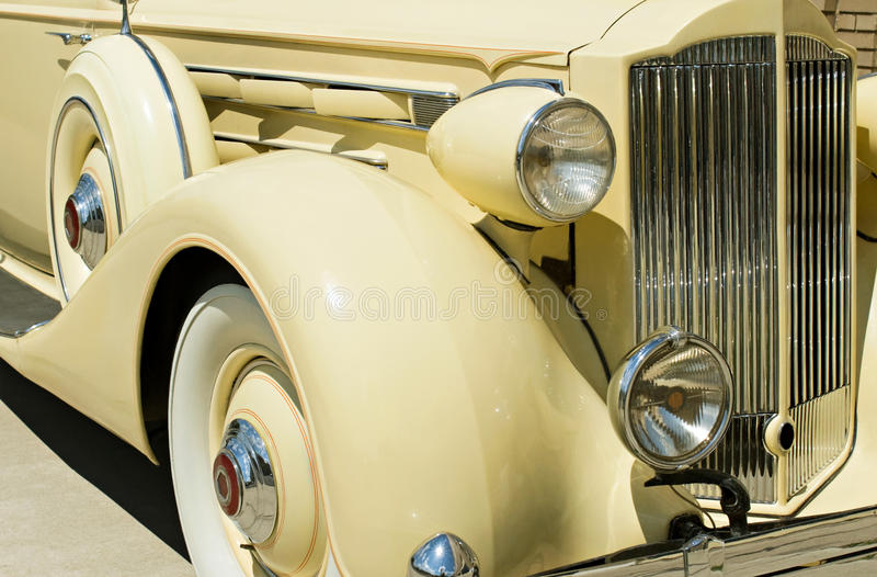 Download Vintage Car Detail stock image. Image of american, lifestyle - 9584061