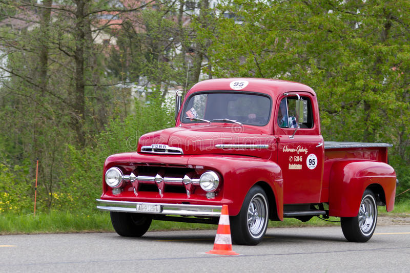 Vintage car Ford F 100 Pick-up from 1951