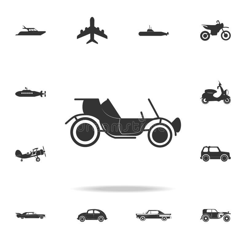 Vintage Car Icon. Detailed Set Of Transport Icons. Premium Quality ...