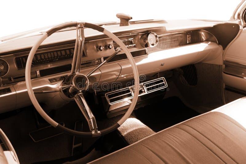 vintage car interior sepia stock images image 14755354. Black Bedroom Furniture Sets. Home Design Ideas