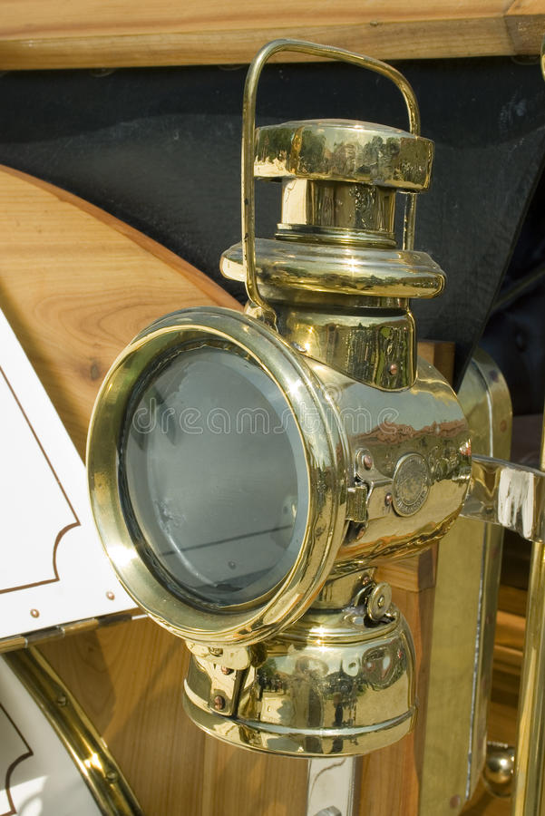 Free Vintage Car Lamp Stock Image - 15268201