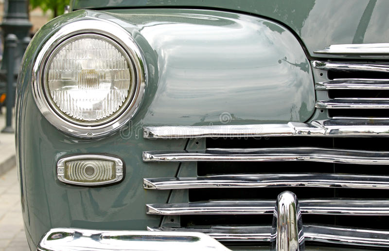 Vintage Car Light Royalty Free Stock Photo