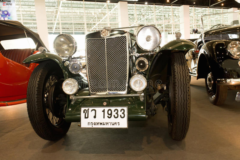 Download Vintage Car MG Magna L1, Year 1933 Editorial Photography - Image of detail, show: 22338662