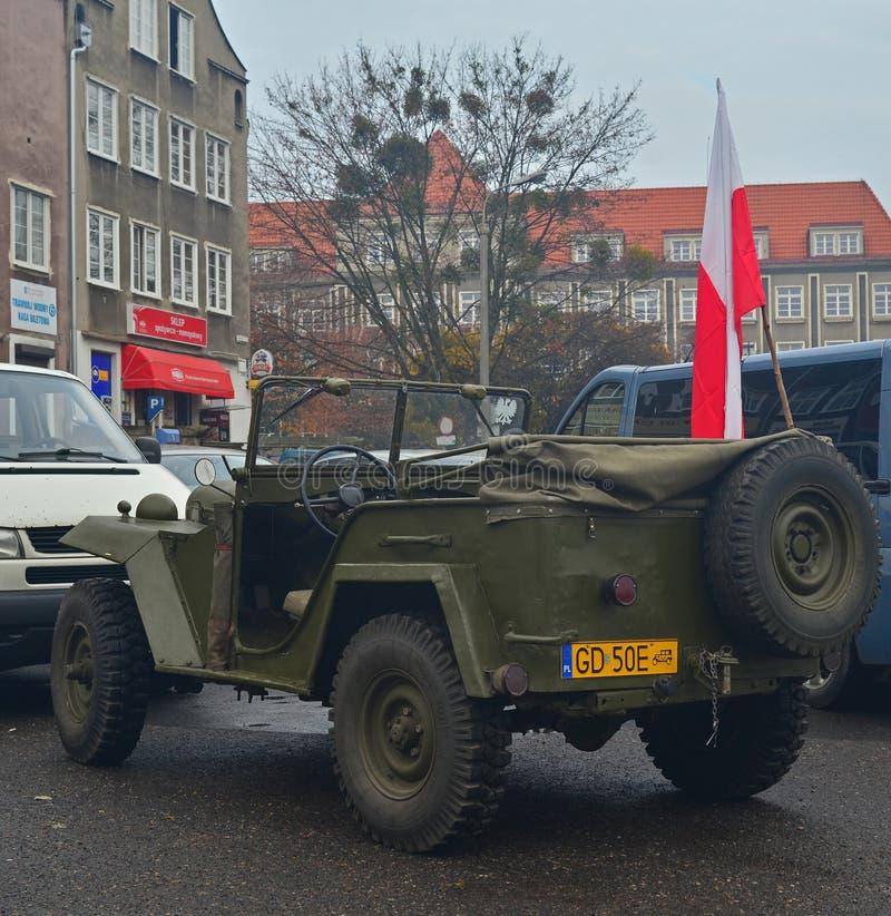 Classic Soviet military Car royalty free stock photos