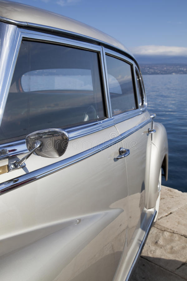 Download Vintage Car Side View Details Royalty Free Stock Photos - Image: 34417418