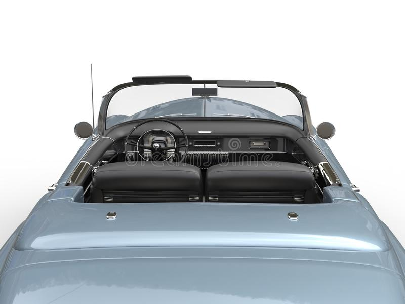 Download Vintage Car - View From The Back Stock Illustration - Image: 83717325