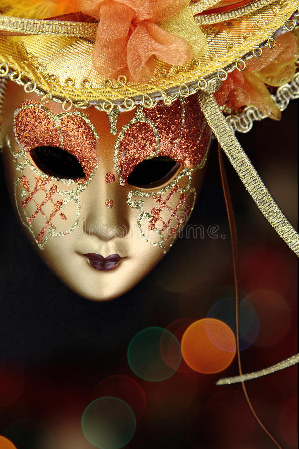 Vintage Carnival Mask Royalty Free Stock Image