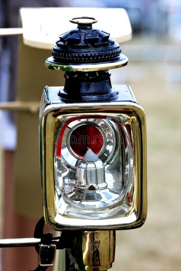 Vintage carriage lamp royalty free stock photography