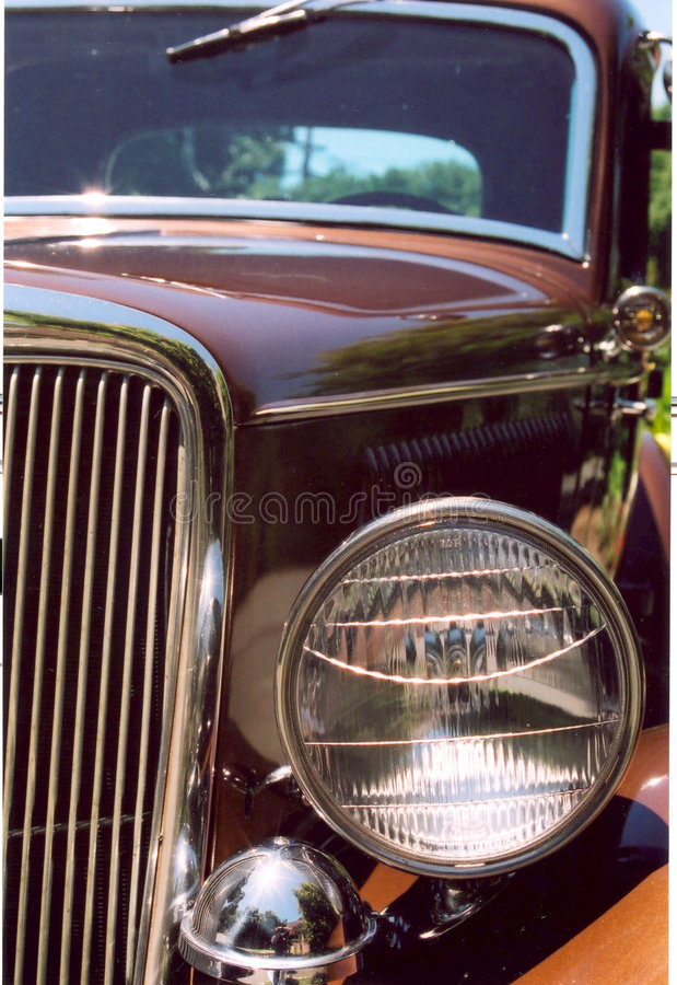 Vintage cars royalty free stock images
