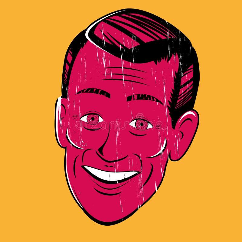 Download Vintage cartoon man stock vector. Illustration of clipart - 32004459