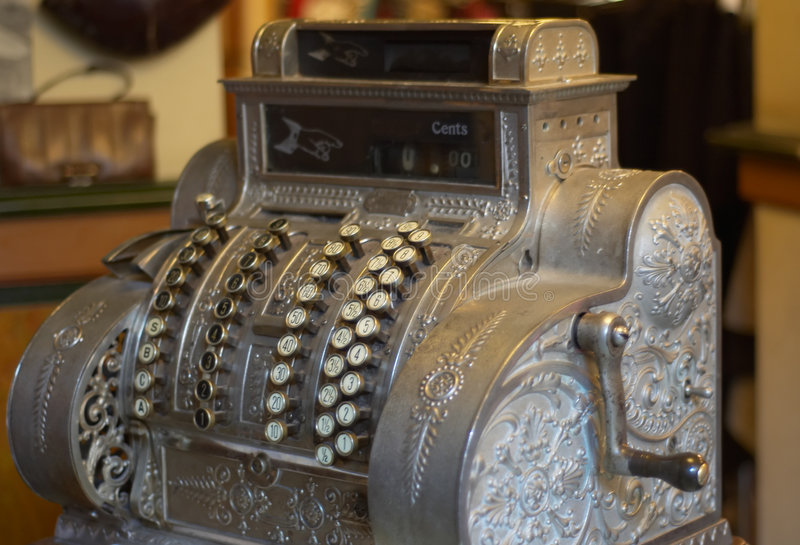 Download Vintage cash register stock image. Image of forties, collector - 1879129