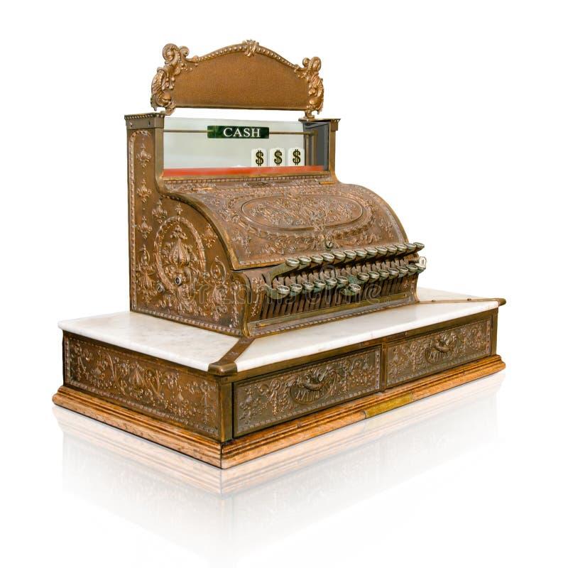 Download Vintage cash register stock illustration. Image of market - 21480935