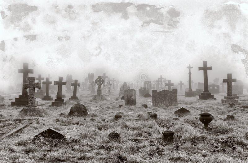 Vintage Cemetery Background Stock Photo Image 39688100