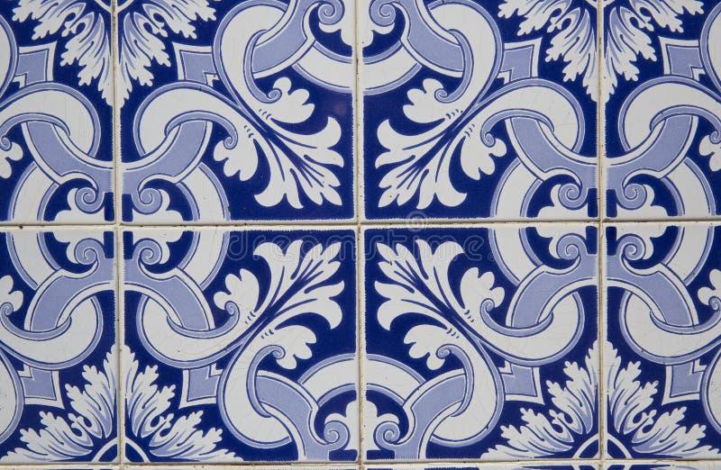 Vintage ceramic tile stock image