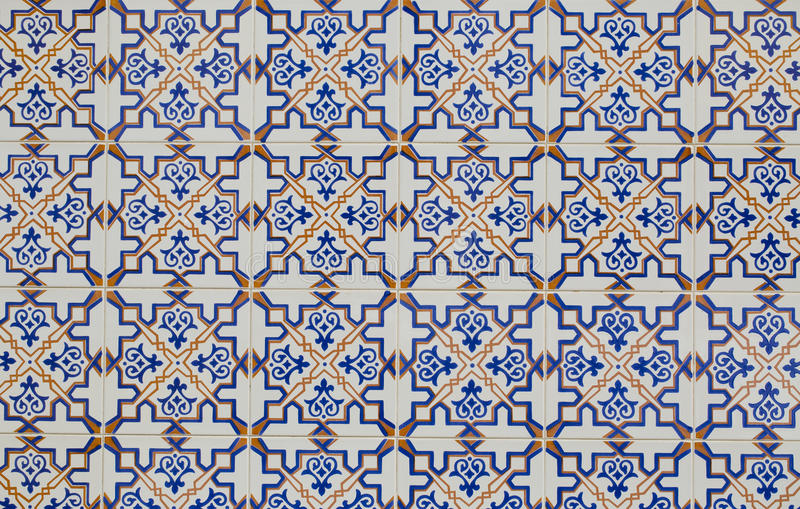 Vintage ceramic tile stock photos
