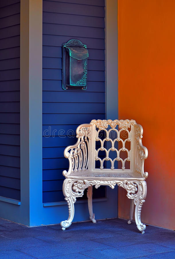 Download Vintage Chair & Mailbox Royalty Free Stock Photo - Image: 19989715