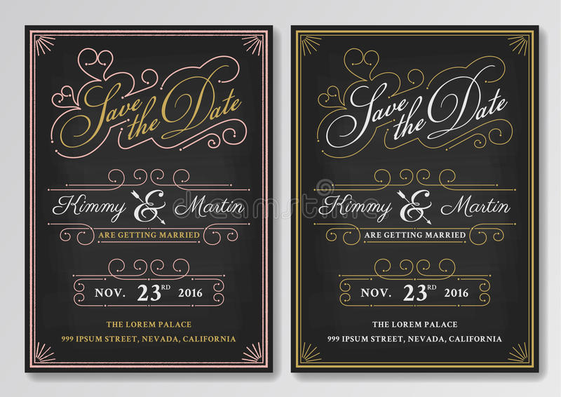 Vintage chalkboard save the date wedding invitation template stock download vintage chalkboard save the date wedding invitation template stock photo image of date stopboris Image collections