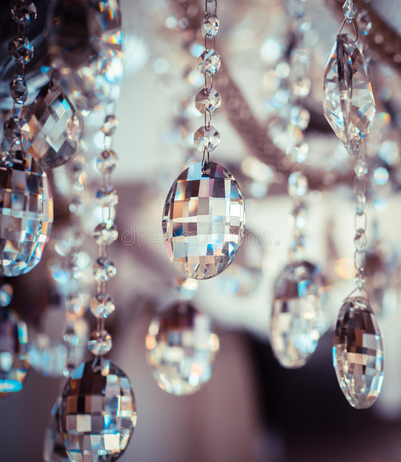 Vintage chandelier stock photography
