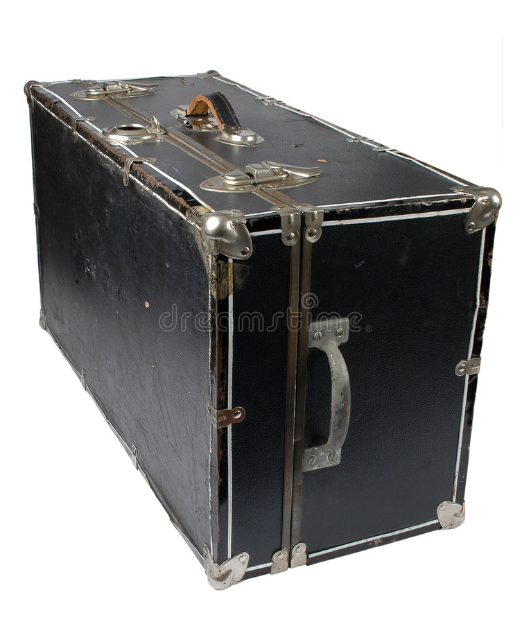 Download Vintage Chest stock photo. Image of journey, secure, strap - 1483006