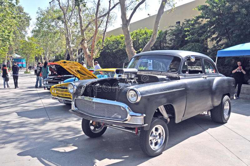 Vintage Chevrolet Hotrod images libres de droits