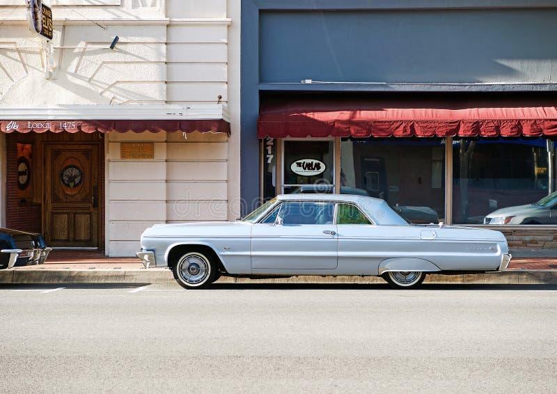 Vintage Chevy Impala imagen de archivo