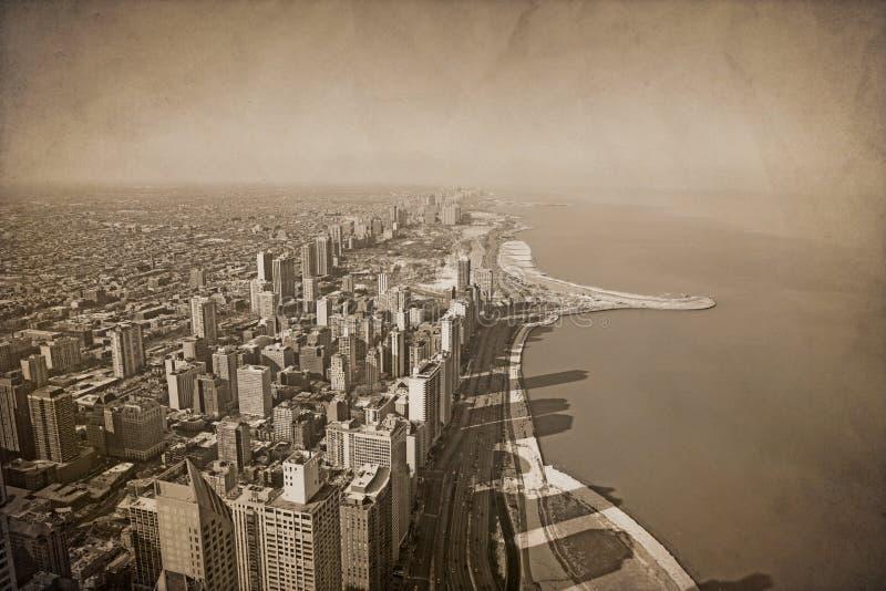 Vintage Chicago fotos de archivo
