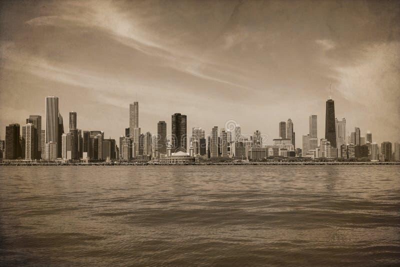 Vintage Chicago fotografia de stock royalty free