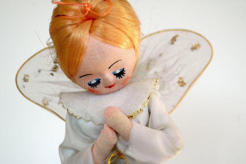 Vintage Christmas Angel stock photography