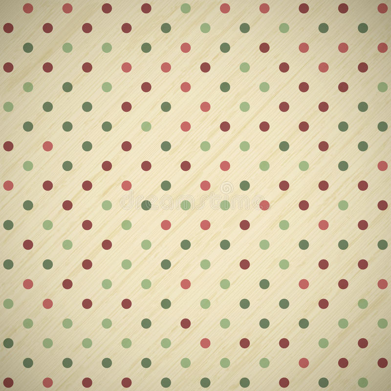 Vintage christmas card background royalty free illustration