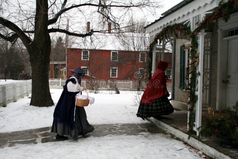 Vintage Christmas Celebration stock photography