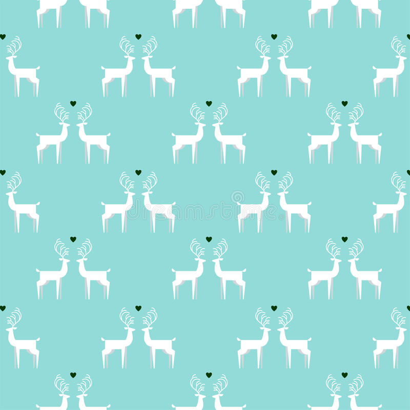 Free Vintage Christmas Colors Seamless Pattern Background Stock Photo - 46486880