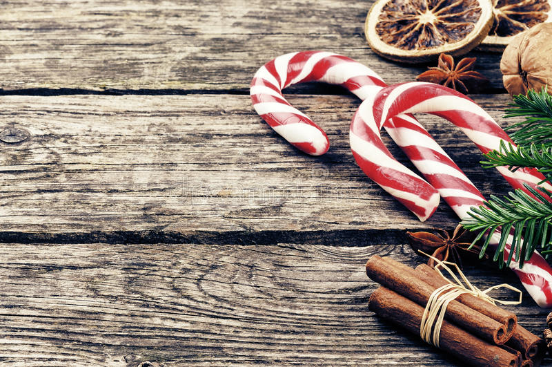 vintage christmas decorations royalty free stock image - image