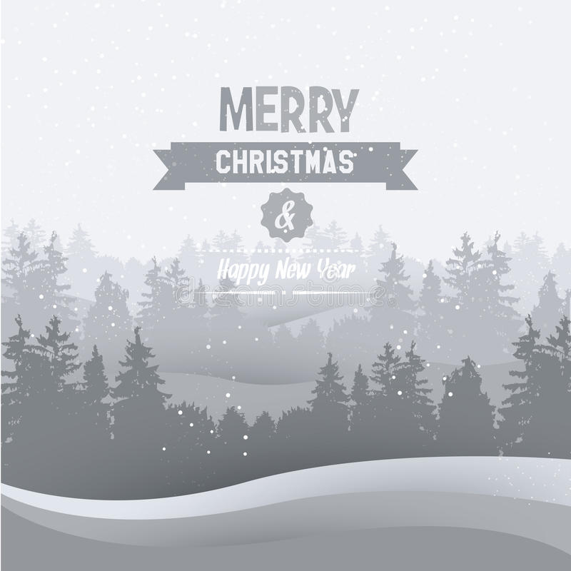 Download Vintage Christmas Greeting Card Stock Photo - Image: 43245654