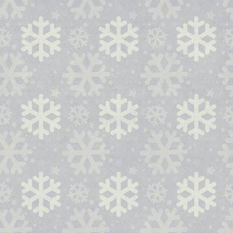 Vintage Christmas seamless background stock illustration