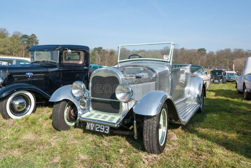 Vintage chromed Ford Model A royalty-vrije stock foto
