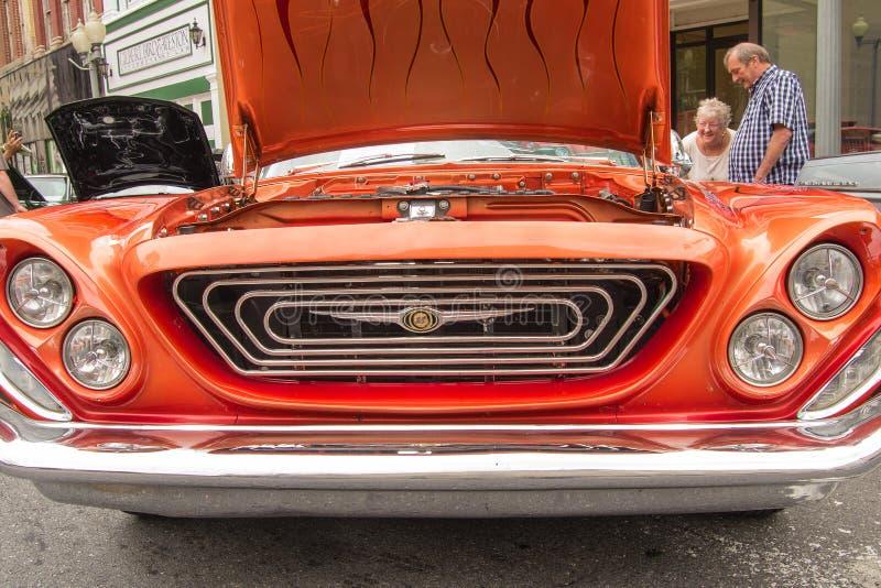 Vintage Chrysler 1962 imagens de stock