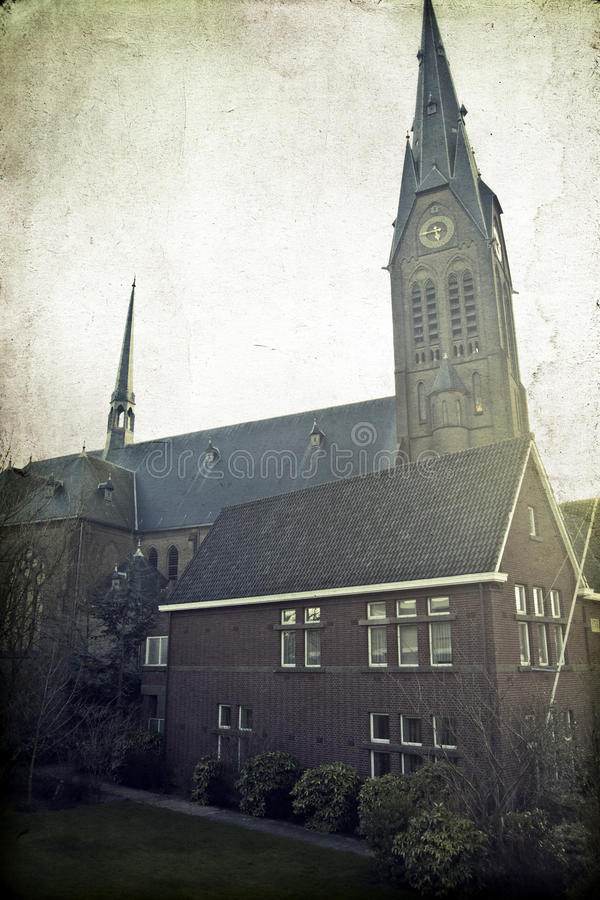 Vintage Church Royalty Free Stock Photography
