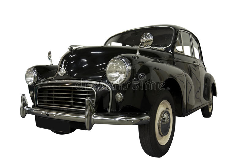 Vintage Classic Car (Path Included) Stock Photography