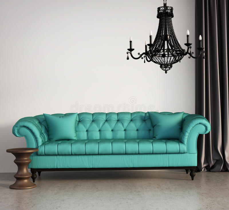 Free Vintage Classic Elegant Living Room Royalty Free Stock Photography - 38155547